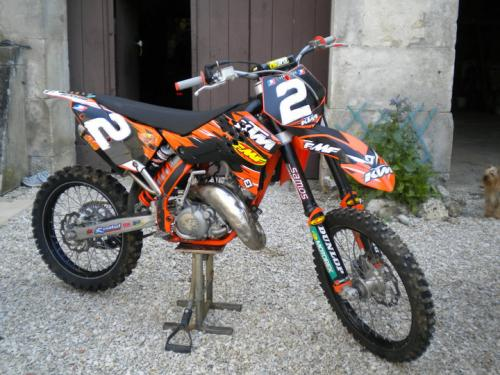 vends ktm 125sx tyla rattray moto cross occasion. Black Bedroom Furniture Sets. Home Design Ideas